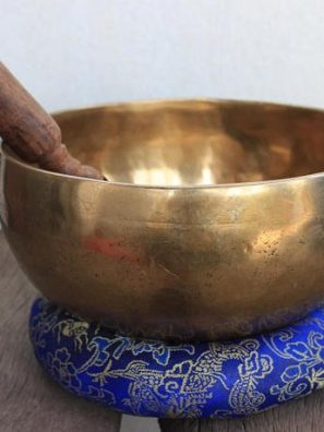 Antique singing bowl- Healing Bowl STKB008