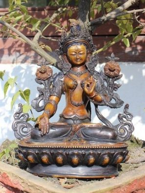 White Tara Statue for sale