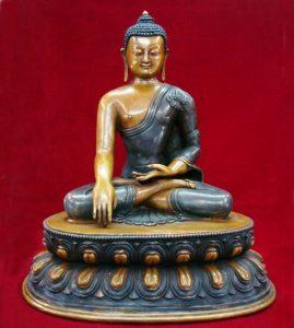 Shakyamuni Antique Buddha Statue