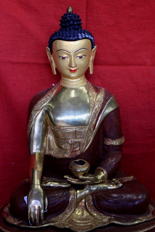 zen garden statues