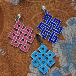 Love Knot Silver Pendants Tibetan Jewelry