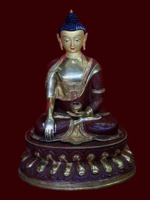 Golden Buddha Garden Statue