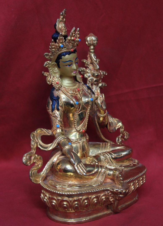 21 taras goddess Tara side view
