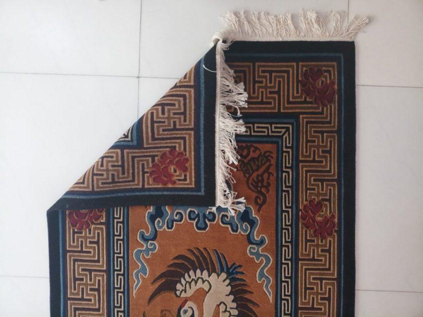 Tibetan Carpet Bird rear view