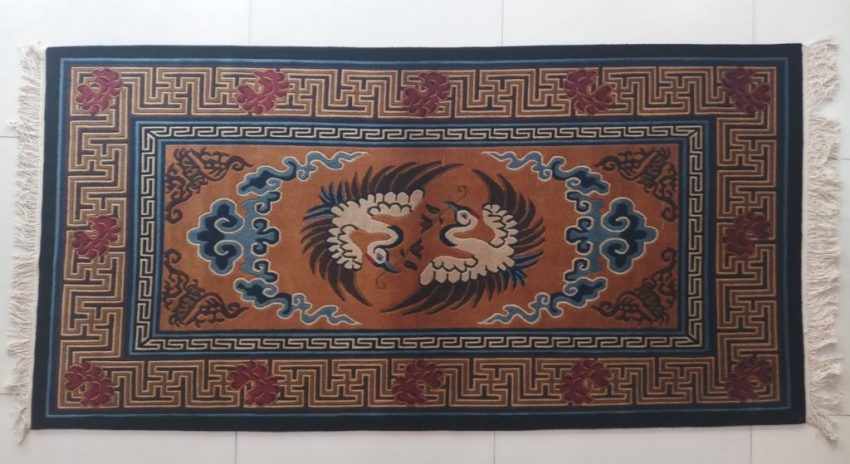 Tibetan Rugs Bird Design