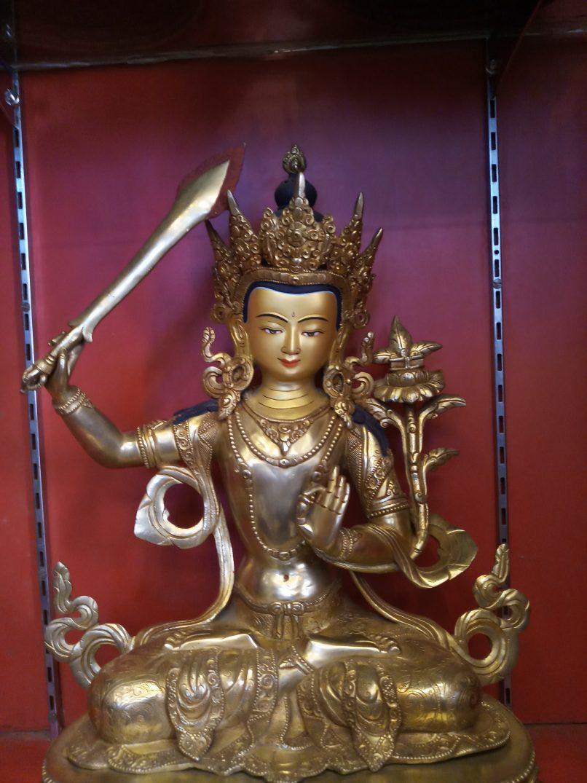 Manjushri Golden Statue body
