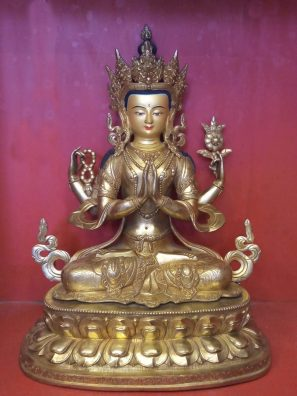 Home decor Buddha decor Chenrezig Buddha Statue