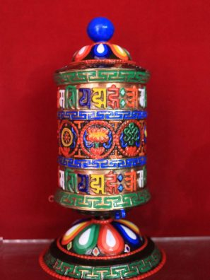 meditation gift-prayer wheel