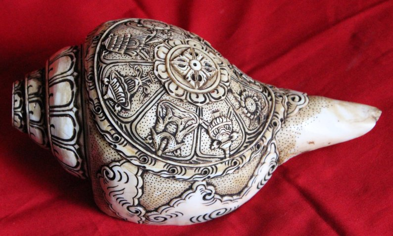 Eight Auspicious Conch Shankha