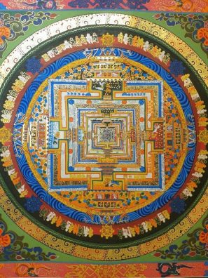 Kalachakra Buddhist Painting Buddhist Philosophy