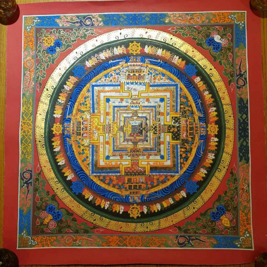 Kalachakra Buddhist Thangka