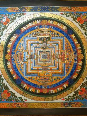 kalachakra thangka Buddhist philosophy