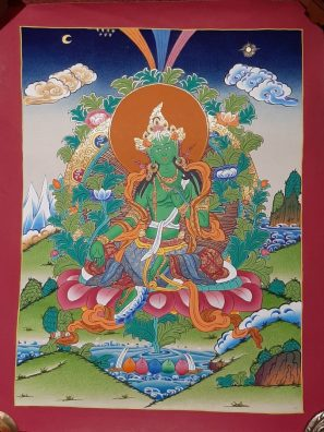 Green Tara Art Decor