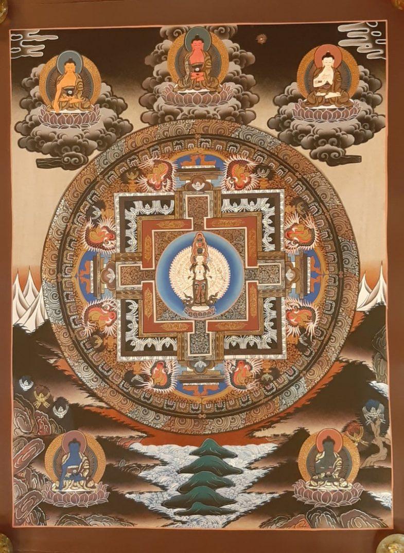 Avalokitesvara Art Decor