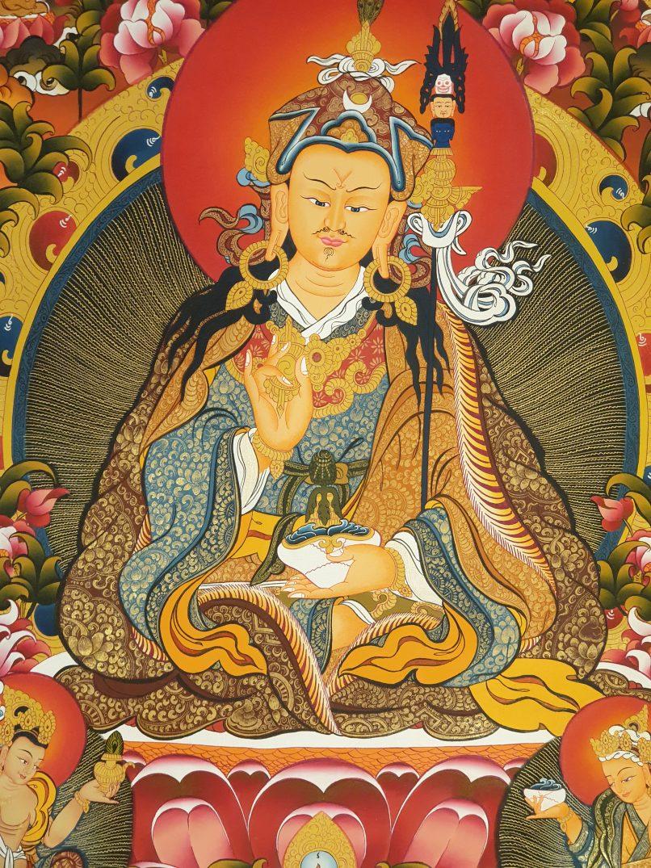 Guru Rinpoche Wall Decor Art