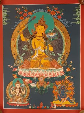Manjushri art painting