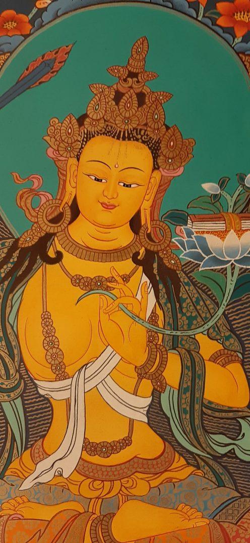 Manjushri art painting home decor