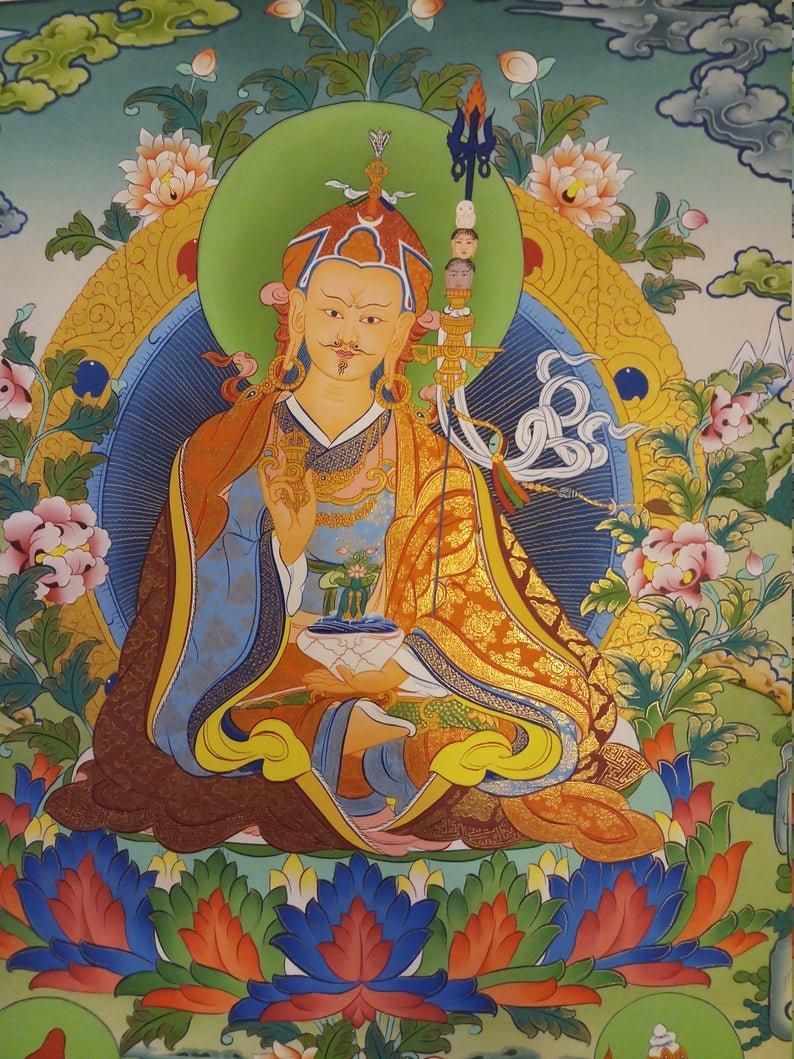 guru rinpoche art decor