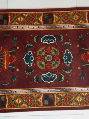 Tibetan Carpet Eight Asthamangala