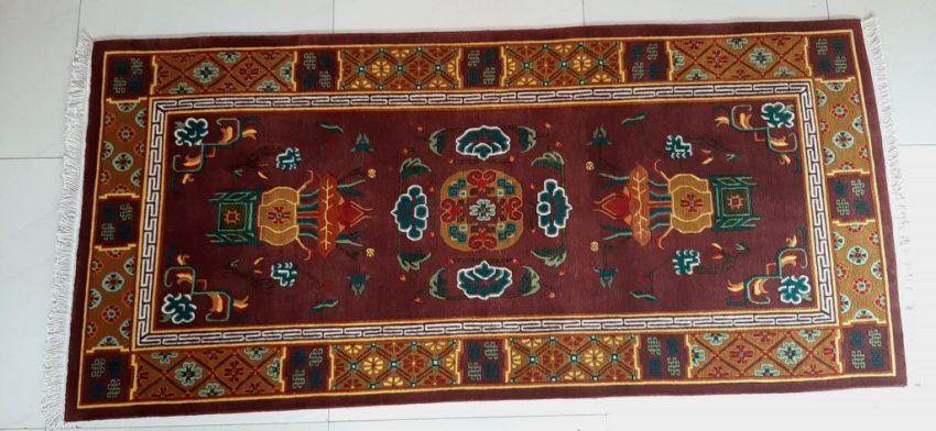 Tibetan Carpet Eight Asthamangala
