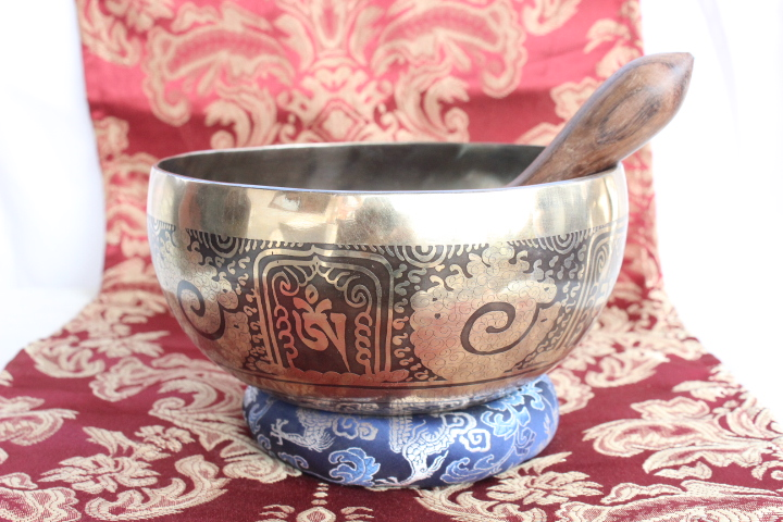 Tibetan Bowl Love Knot Double Dorje