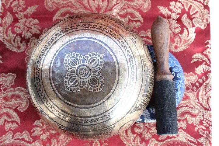 Tibetan Bowl Love Knot sound healing