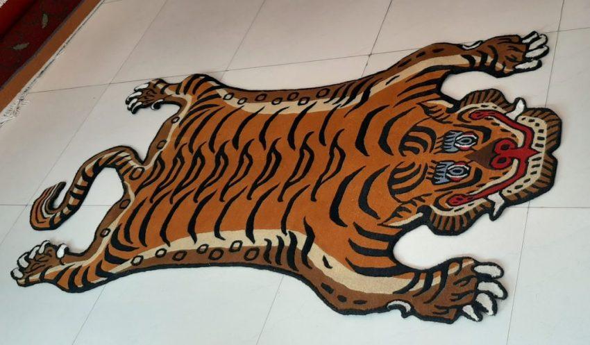 Tibetan Tiger Rug home decor