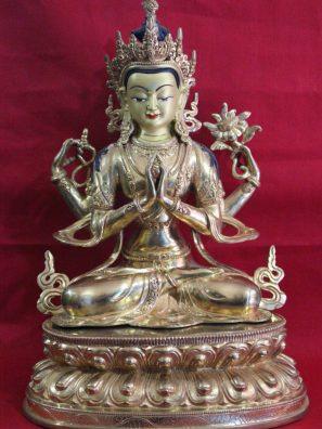 Avalokitesvara buddha statue