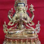 Chenrezig Golden Buddhr