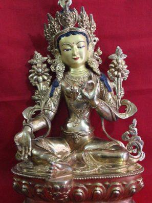 Green Tara Buddhist Statue Buddhist