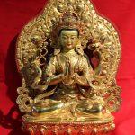 Kharchheri Golden Buddha statue
