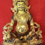 Kuber Golden Buddha Statue