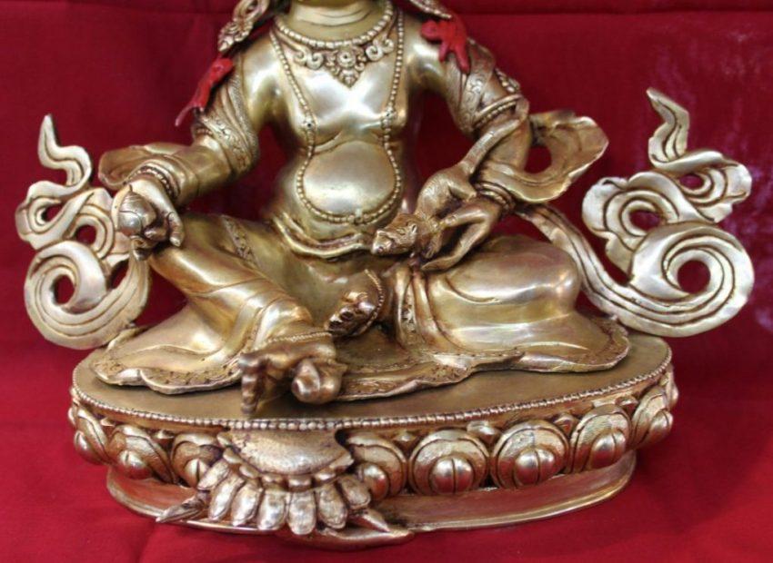 Kubera Golden Statue Presents