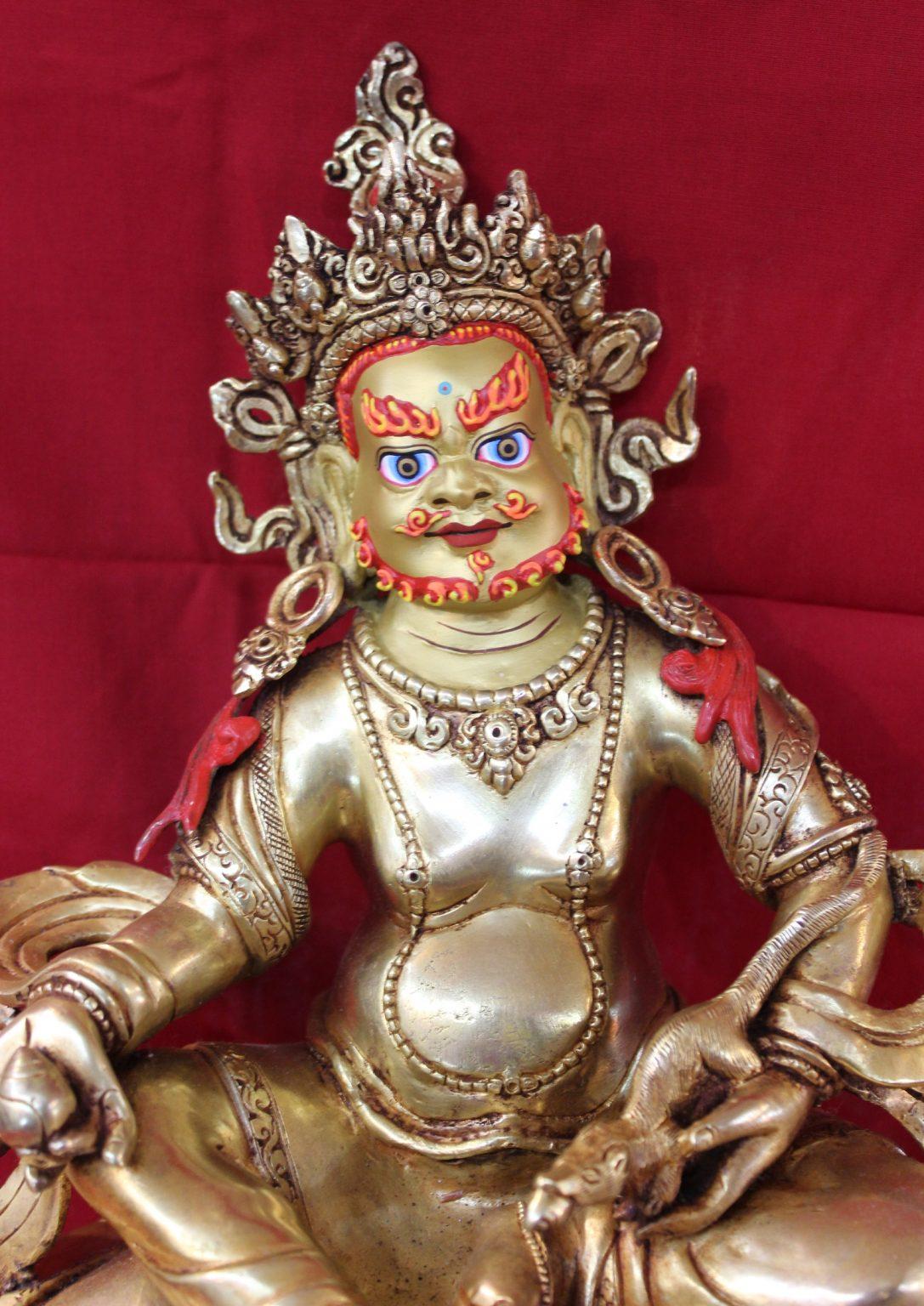 Kubera Golden Statue gifts