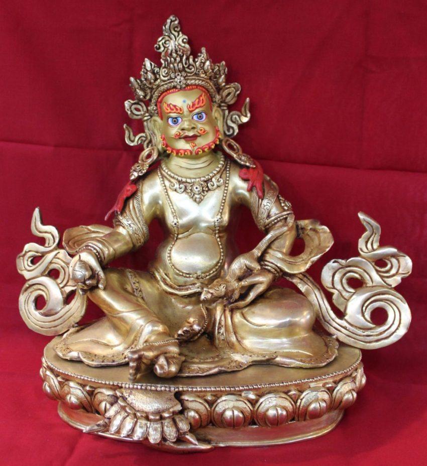 Kubera Golden Statue
