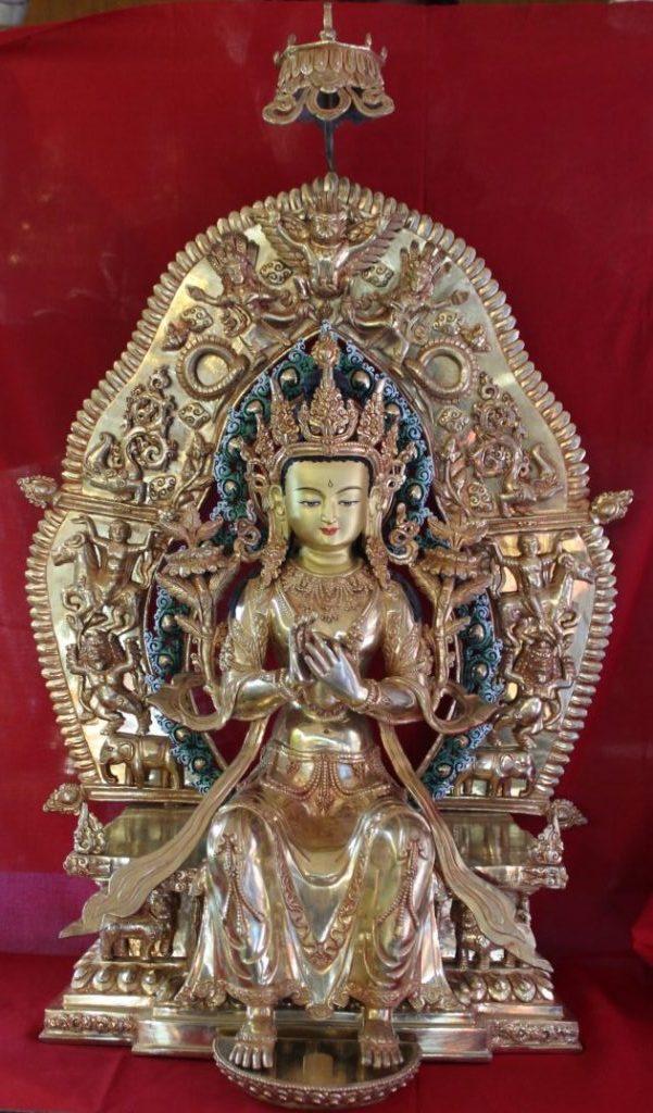 Maitriya Statue