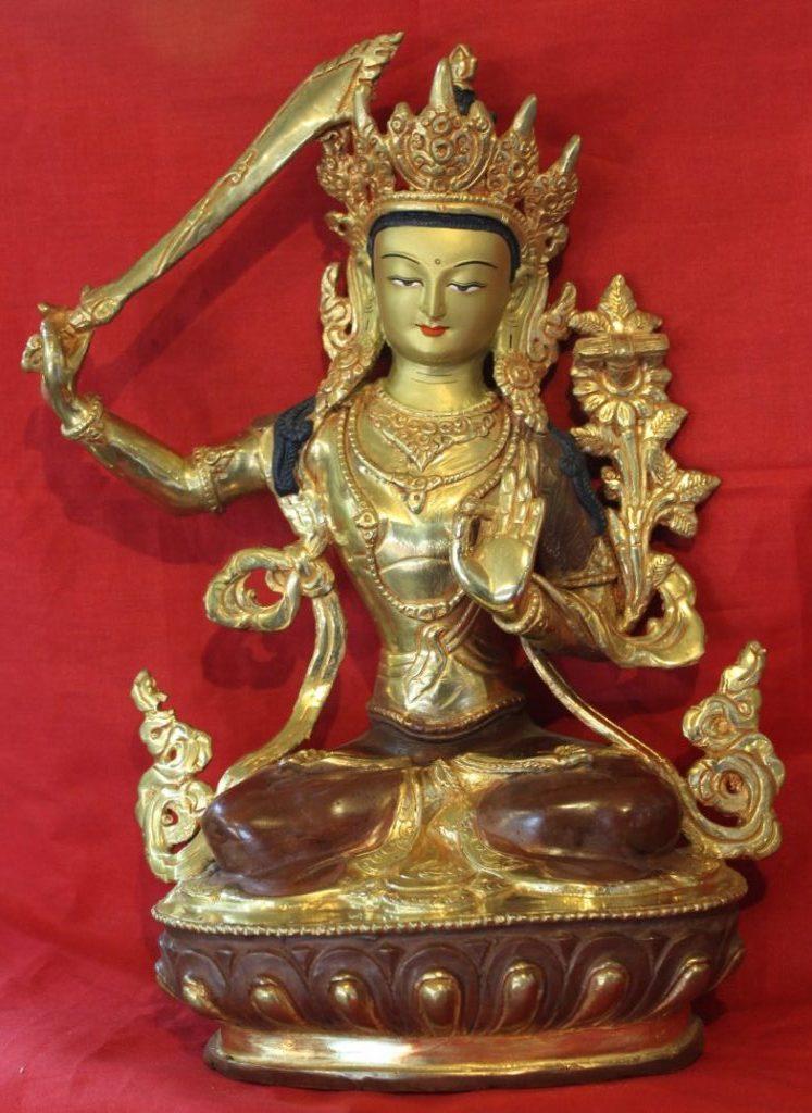 Manjushri Golden Buddha