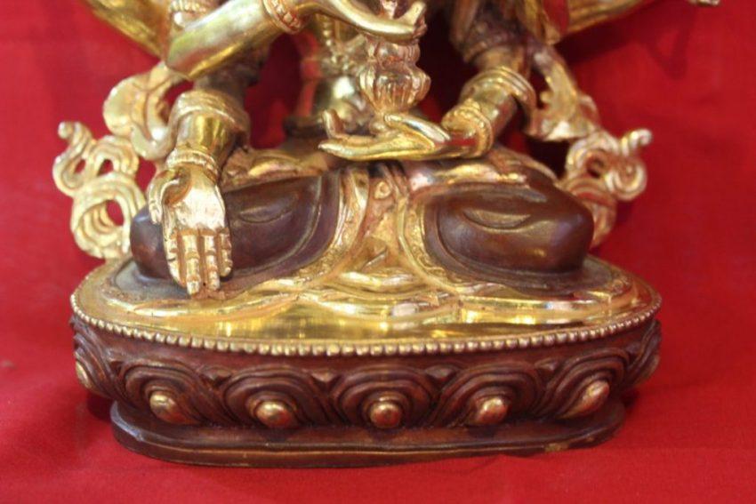 Namgyalma Golden Buddha Statue Deco