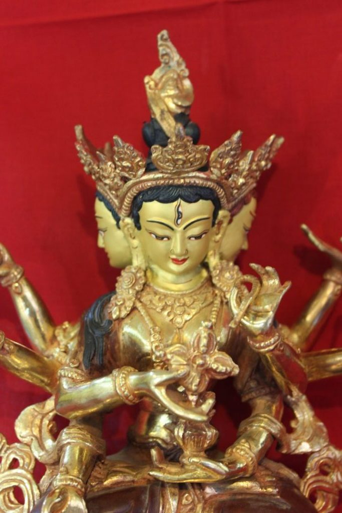 Namgyalma Golden Buddha Statue GIfts