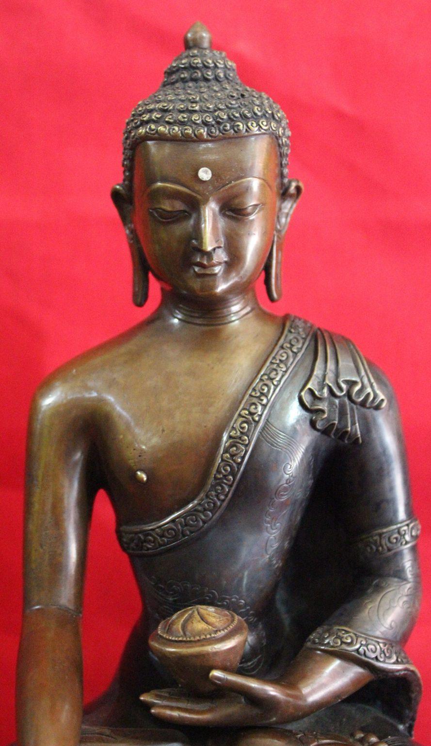 Shakyamuni Buddha Antique Statue GIfts
