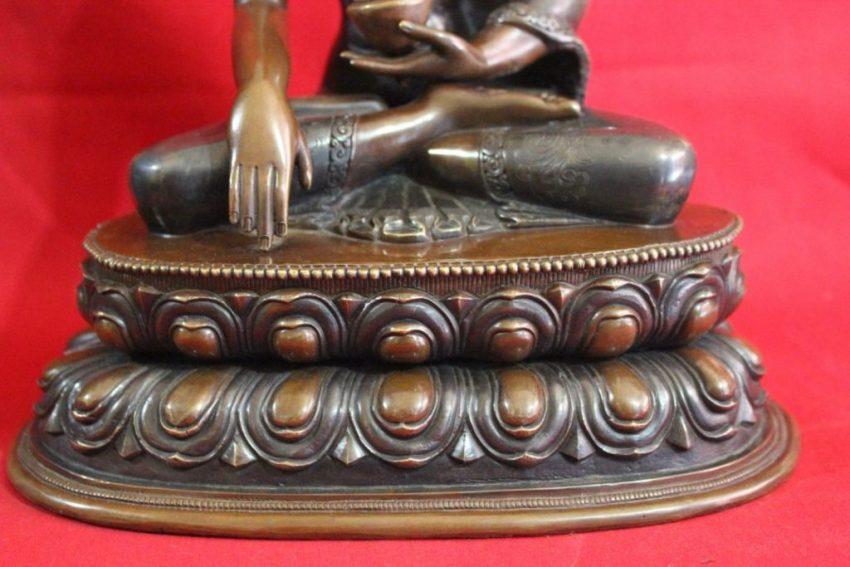 Shakyamuni Buddha Antique Statue home deco