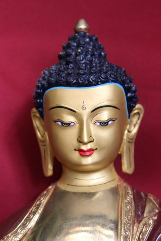 Shakyamuni Buddha Golden Statue gifts