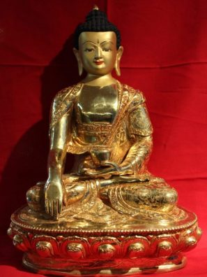 Shakyamuni Golden Buddha Statue Gifts