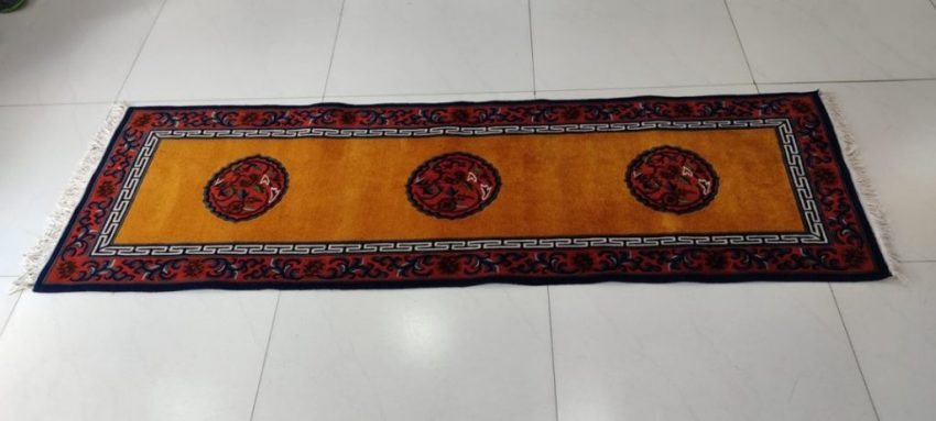 Tibetan Mandala Runner Mat