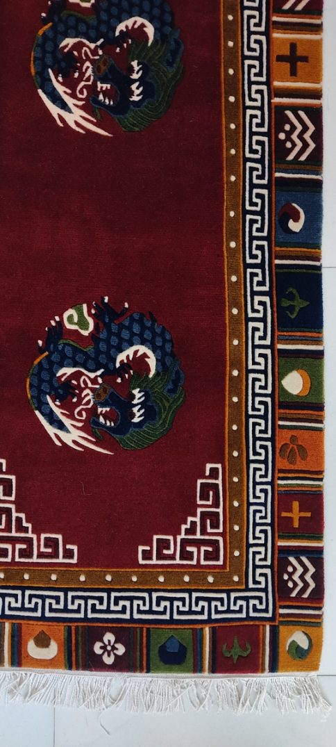 Tibetan Dragon Runner Rugs