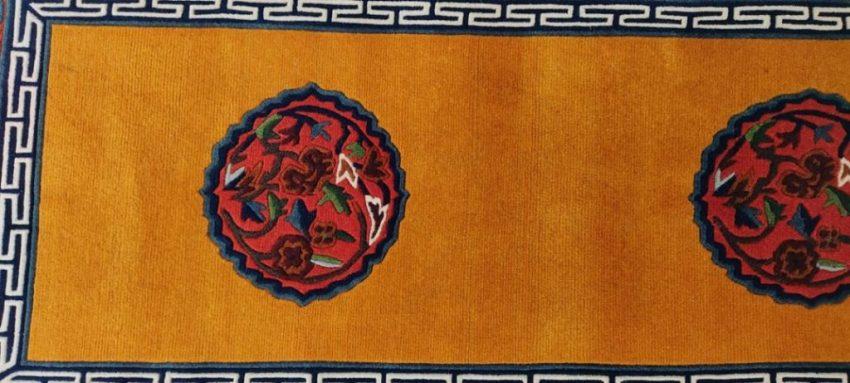 Tibetan mandala deco