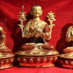 Tsongkapa Buddha Statue Set whole