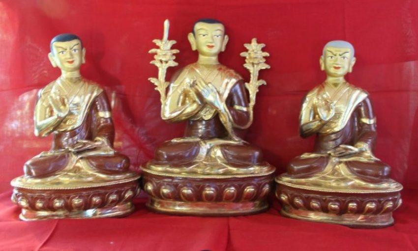 Tsongkapa Golden Buddha Statue gifts