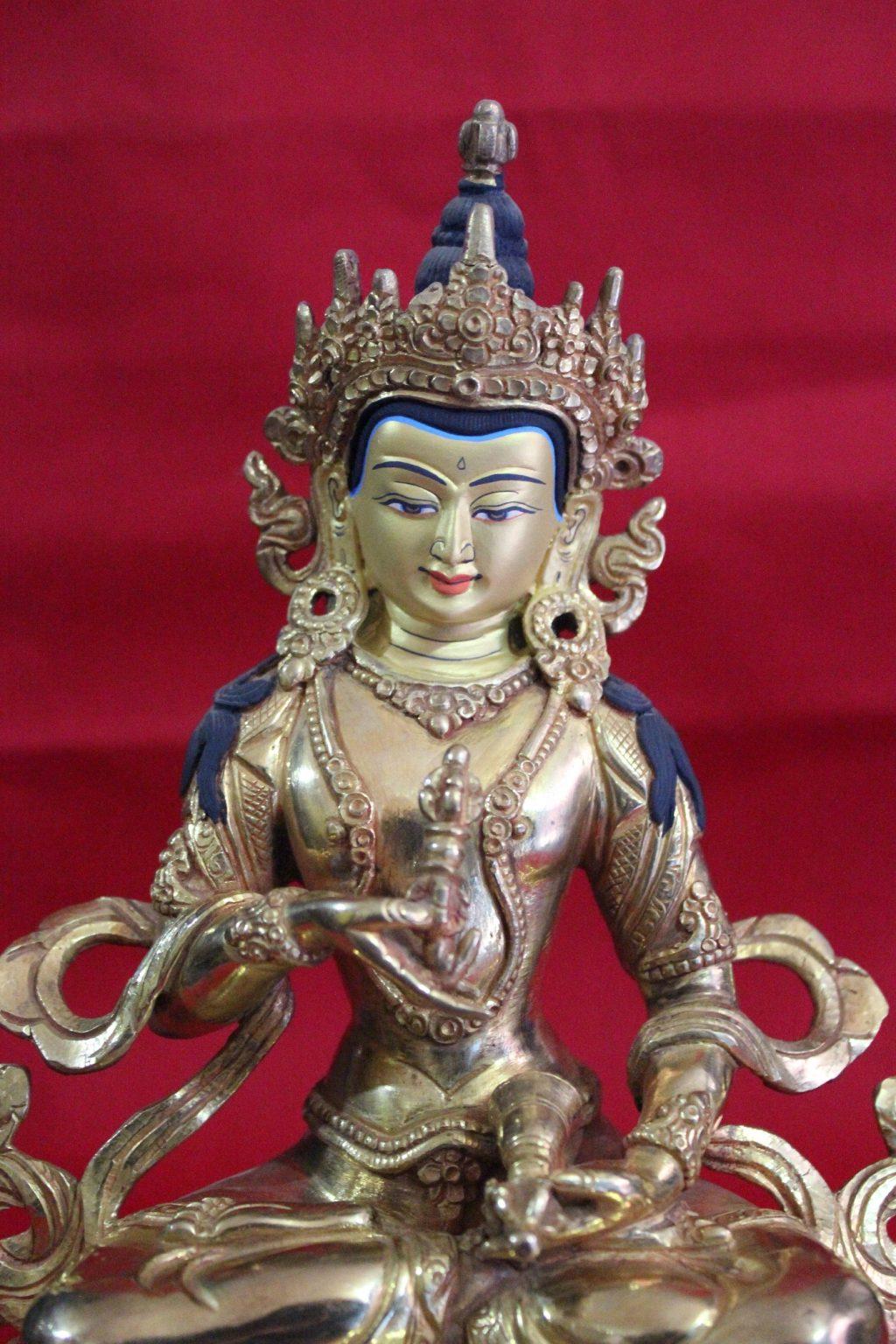 Vajrasattva Golden Buddha Statue