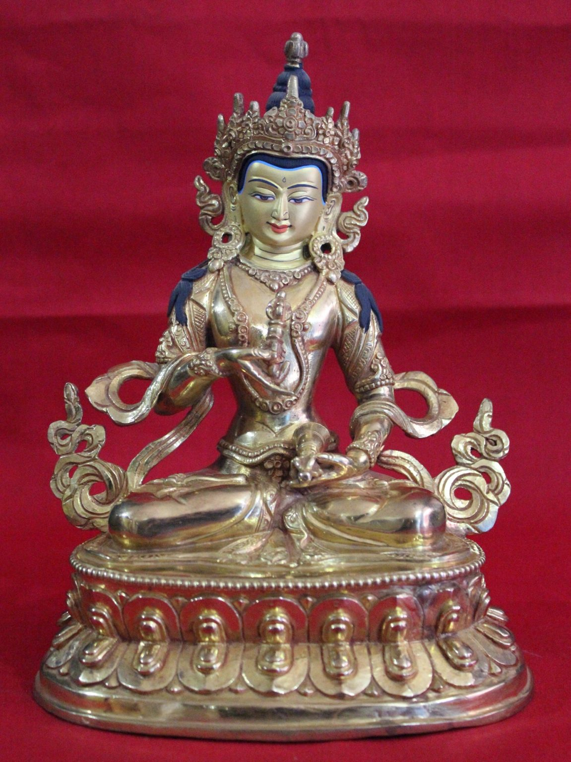 Vajrasattva Golden Buddha Statue Gifts